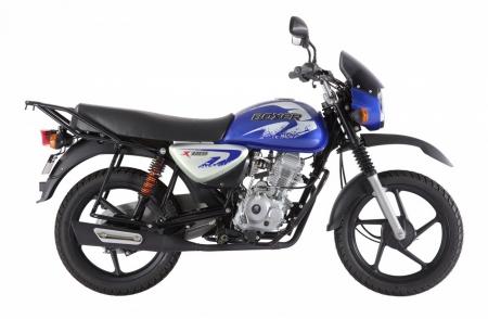мотоцикл bajaj boxer bm 125 x new (5 ступенчатая коробка передач) BAJAJ