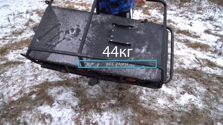 Мотобуксировщик БУРЛАК КОМБИ-1