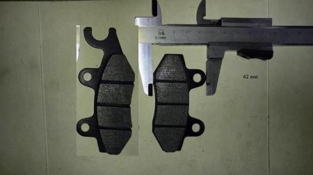 Задние тормозные колодки (для эндуро мотоциклов)
