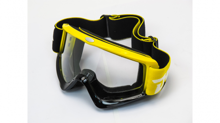 Очки кроссовые YH-96-30 желтые