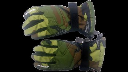 Перчатки SCOYCO камуфляж