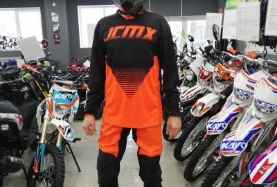 Штаны для мотокросса JCMX Orange