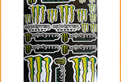 Monster Energy желтая