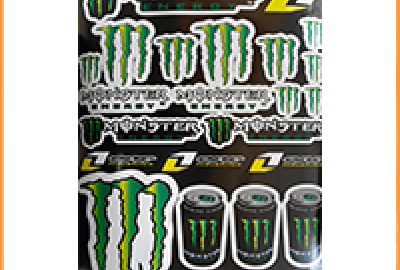 Monster Energy зеленая
