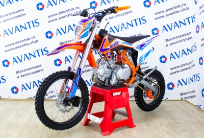 Питбайк Avantis 125 Classic 17/14 (2019)