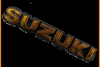 Эмблема SUZUKI металл