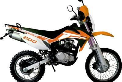 Мотоцикл Racer Enduro RC200GY - C2
