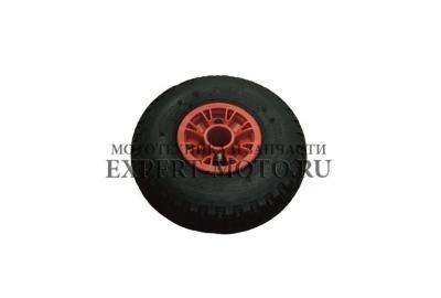 Пневмо колесо подготовленное 260*85 металлические втулки с сальниками и 204 шариковыми подшипниками. Paxus 650, 700, 700 Avant