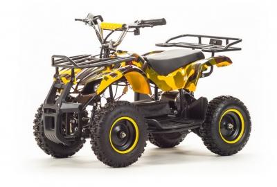 Квадроцикл (игрушка) ATV ZR8 800 Вт (осенний лес)