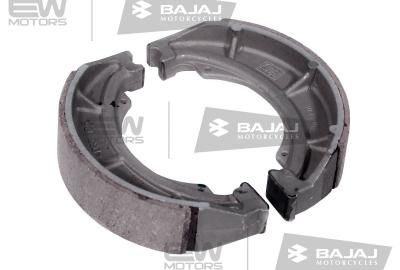 Колодки тормозные задние (передние BOXER), асбестовые BAJAJ 30151105